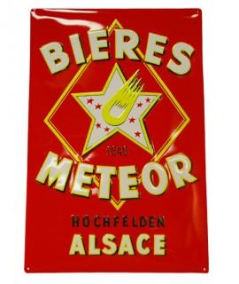 Plaque vintage Meteor