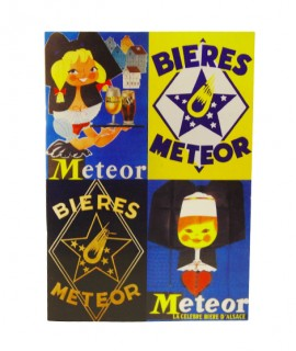 Cahier Meteor - Affiches - Bleu