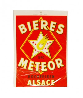 Affiche Meteor - Etoile Rouge