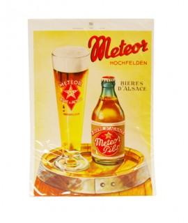 Affiche Meteor - Fût de bière