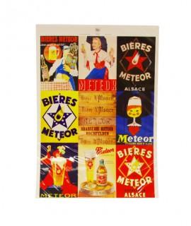Affiche Meteor - Pêle-mêle 1925-1965