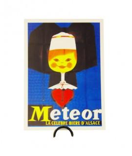 Carte Meteor - Alsacienne bleue