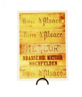 Carte Meteor - Latte bois