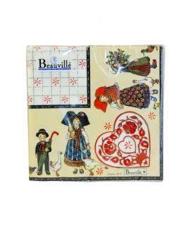 Serviette papier Alsace