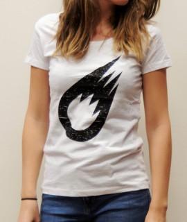 T-Shirt Femme Blanc Meteor