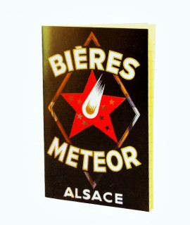 Carnet Meteor - Etoile Rouge