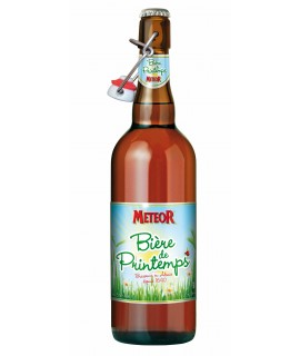 Bière de Printemps 75 cl Meteor Bouchon Mécanique