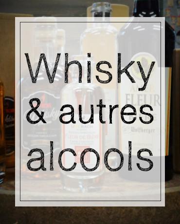 whisky meteor et autres alcools