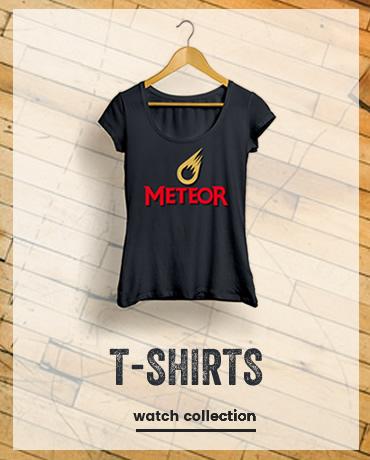t-shirts meteor