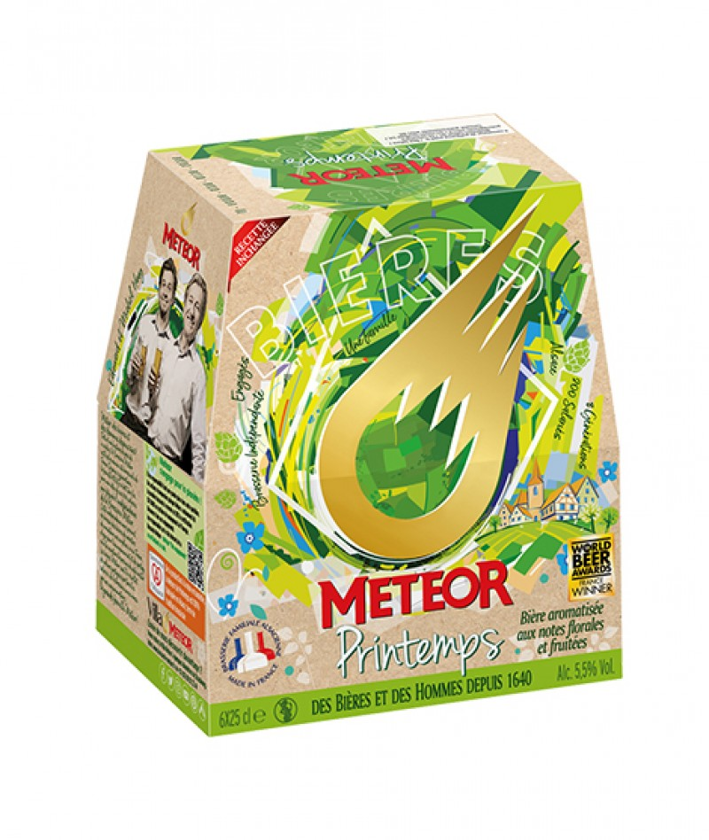 Meteor Printemps 6x25cl