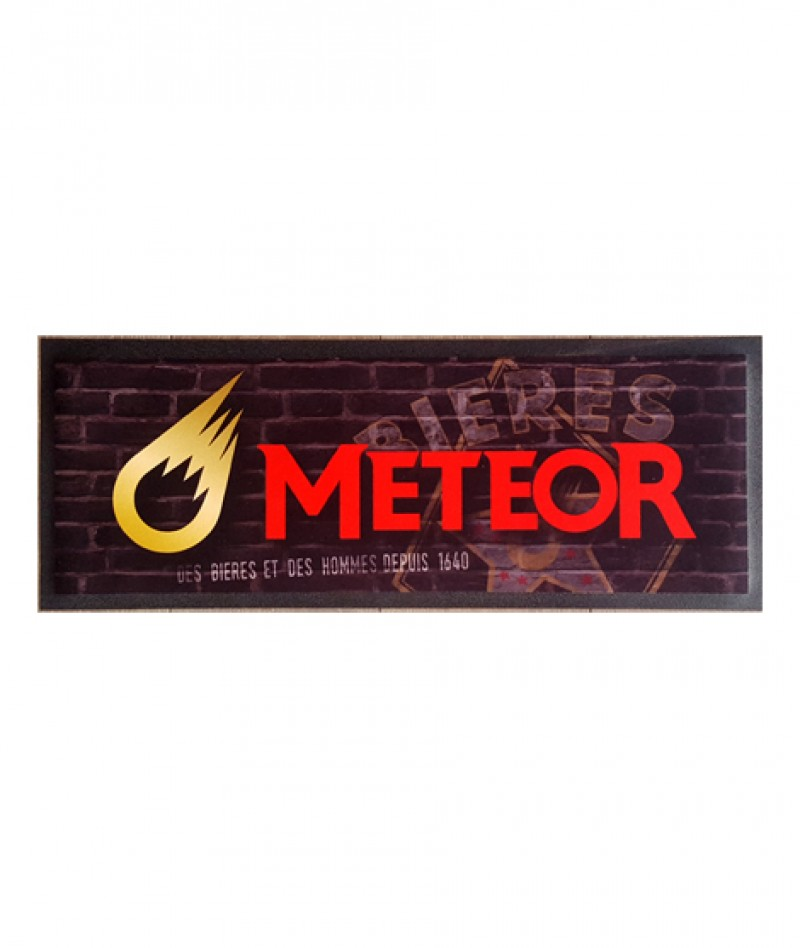 Tapis de bar Meteor