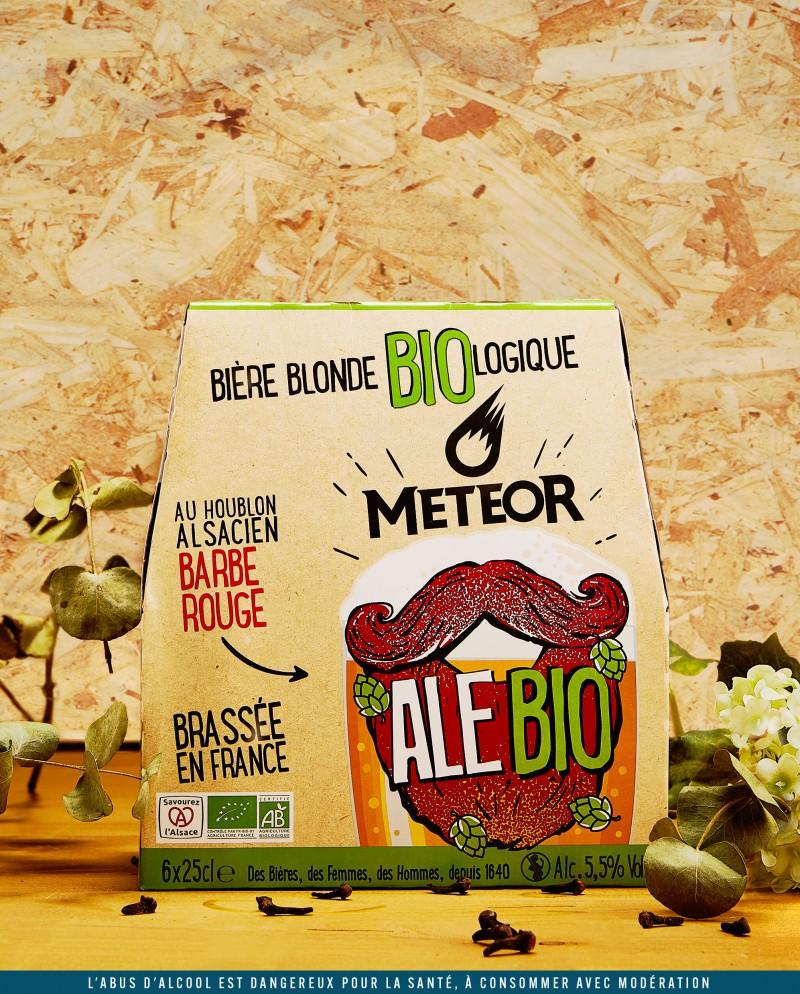 Meteor Ale Bio 6x25cl