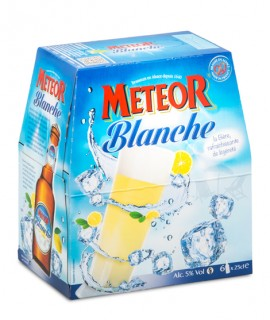 Meteor Blanche 6x25cl