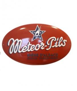 Plaque Meteor Pils OVALE