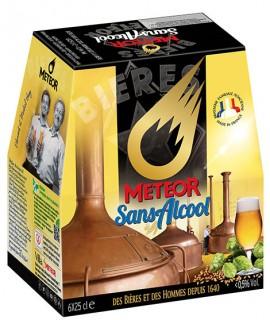 Meteor Sans Alcool 6x25cl
